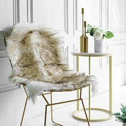 Admirable Iisutas Faux Fur Sheepskin Rug Fluffy Chair Seat C Pabps2019 Chair Design Images Pabps2019Com