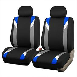 FH Group FB033BLUE102 Bucket Seat Cover  Blue)
