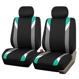 FH Group FB033MINT102 Modernistic Mint Bucket Seat Cover, Se