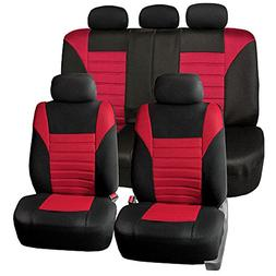 fb068red115 universal car seat cover premium 3d