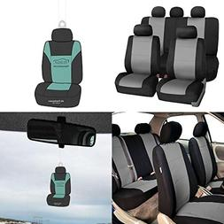 FH Group FB083115 Premium Neoprene Seat Covers, Airbag & Spl
