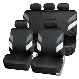FH Group FB086115 Modern Edge Neoprene Seat Covers, Airbag &