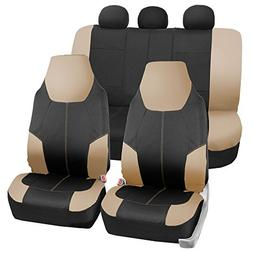 FH Group FB116115 Neo-Modern Neoprene Seat Covers, Airbag &