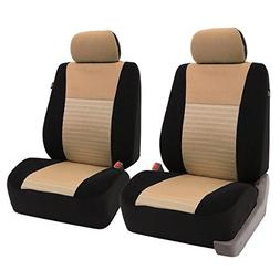 FH-FB060115 Trendy Elegance Car Seat Covers, Airbag compatib