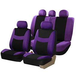 FH Group FH-FB030115-SEAT Light & Breezy Purple/Black Cloth