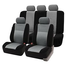 FH Group FH-FB060114 Trendy Elegance Full Set Car Seat Cover