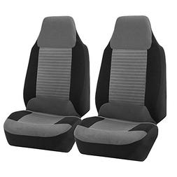 FH GROUP FH-FB107102 Trendy Corduroy Bucket Seat Covers, Air
