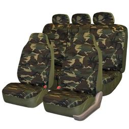 FH-FB109115 Camouflage Car Seat Covers, Airbag compatible an