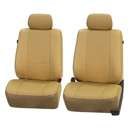 FH GROUP FH-PU007102 Deluxe Leatherette Front Set Seat Cover