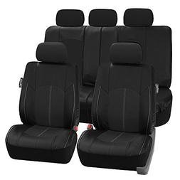 fh pu008114 perforated leatherette full set car