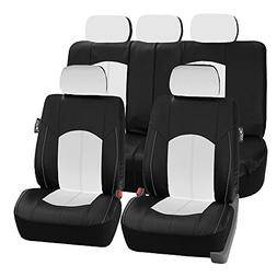 FH Group FH-PU008115 Perforated Leatherette Full Set Car Sea