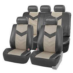 FH Group FH-PU021115 Synthetic Leather Full Set Auto Seat Co