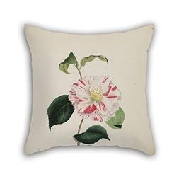Artistdecor 16 X 16 Inches / 40 By 40 Cm Flower Pillow Cover