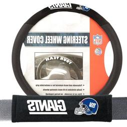 Fremont Die FMT-93175 New York Giants NFL Steering Wheel Cov