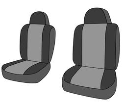CalTrend Front Row Bucket Custom Fit Seat Cover for Select J
