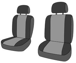 CalTrend Front Row Bucket Custom Fit Seat Cover for Select T