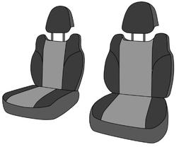 CalTrend Front Row Sport Bucket Custom Fit Seat Cover for Se