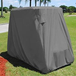 KHOMO GEAR Golf Cart Cover - TITAN Series - 2 Passenger UNIV