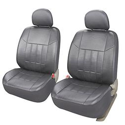 Leader Accessories General 2 Low Back Leather Front Seat Cov