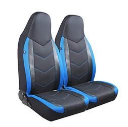 PIC AUTO High Back Car Seat Covers - Sports Carbon Fibre Mes