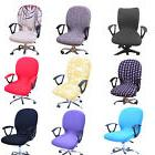 1*Office Computer Chair Cover Spandex Stretch Swivel Rotate