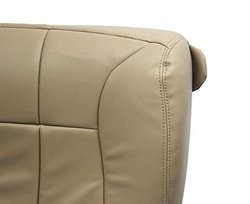 1998-2002 SLT -Driver Bottom Leather Seat Cover Tan