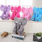 1PC Cute Pillow Elephant Kids Soft Stuff Plush Toy Doll Long