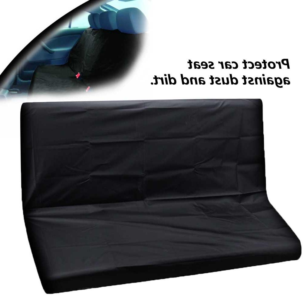 2 Universal Heavy Duty <font><b>Covers</b></font> <font><b>Waterproof</b></font> Protectors Front Rear Washable Auto