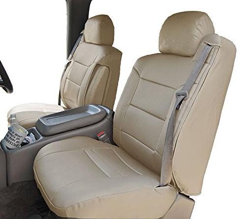 Pleasing Iggee 2000 2002 Chevy Silverado Beige Artificial Leather Custom Made Original Fit Front Seat Covers 2 Armrest Covers Gamerscity Chair Design For Home Gamerscityorg