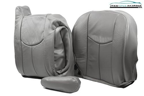 2004 COMPLETE Replacement Leather Covers GRAY