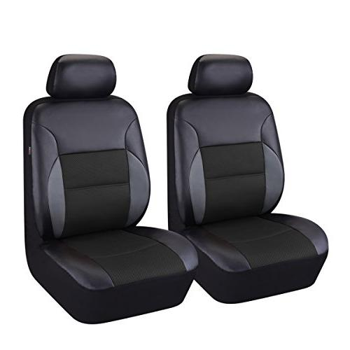 6 pieces universal two front leather car