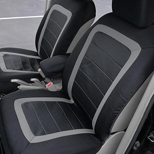 BDK Advanced Seat Covers Install Sideless Protector Modern Honeycomb