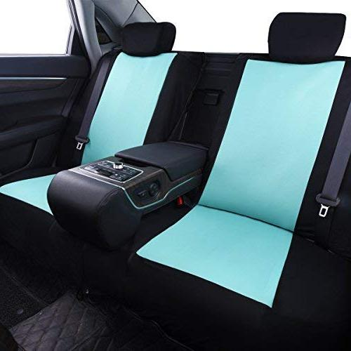 CAR PASS 11PCS Universal Fit Seat Breathable with 5mm Composite Inside,Airbag Compatible