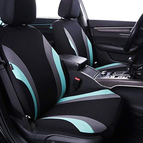 CAR Rider 11PCS Universal Seat Cover with Sponge Inside,Airbag Compatible