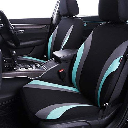 CAR Line 11PCS Universal Seat -100% Breathable with Inside,Airbag
