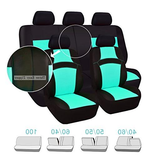 CAR PASS Rainbow Fit Seat -100% Breathable with 5mm Composite