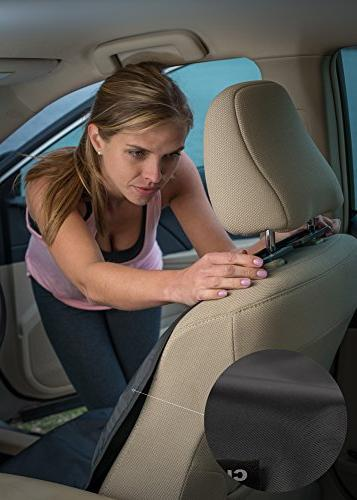 CleanRide&Trade;: Bacteria-Resistant, Waterproof Car Seat Cover Running Sweat Workout