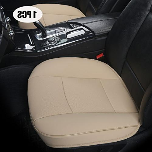 EDEALYN Luxury Car Interior PU Leather Car Seat Cover Protec