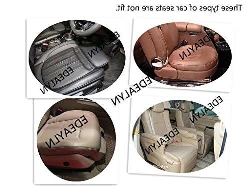 EDEALYN Luxury Car Interior PU Cover Seat Cover
