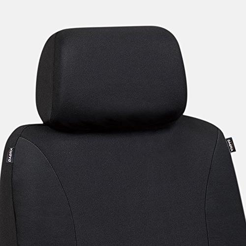 Elantrip Car Seat Cover Set Universal Bucket for Jeep Black