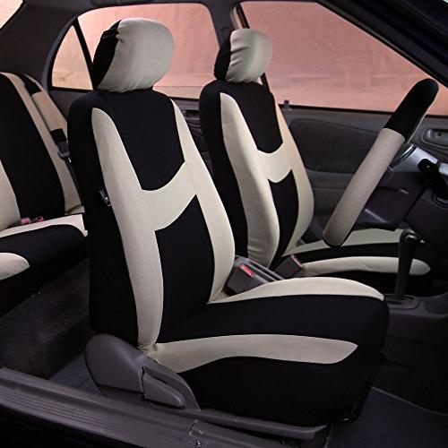 FH & Breezy Cloth Seat Airbag & Split Ready- Fit Most or