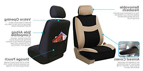 FH & Seat Cover Set & Split Ready- Most Car, SUV, or