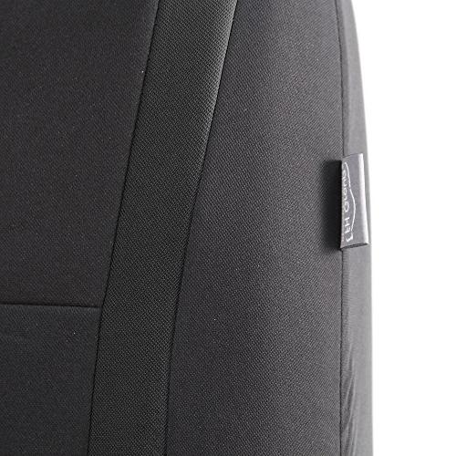 FH Flat Cloth Seat w. Detachable Headrests and Fit Most Car, SUV,