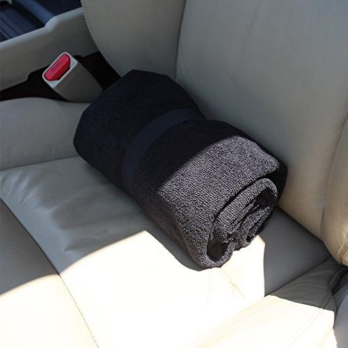 Leader Cover for Cars SUV Black Backing Washable - Great Athletes, Swimming, Boxing,