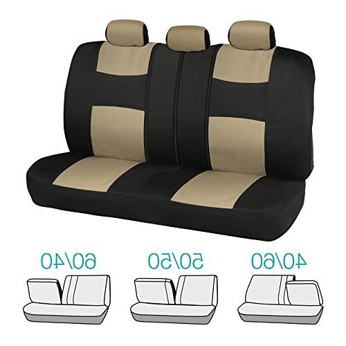 Two-Tone PolyCloth Car Covers Motor Dual-Accent Heavy Floor Mats