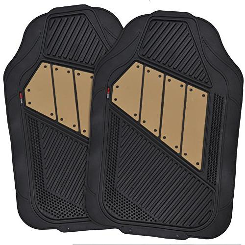 Two-Tone Covers Dual-Accent Floor -