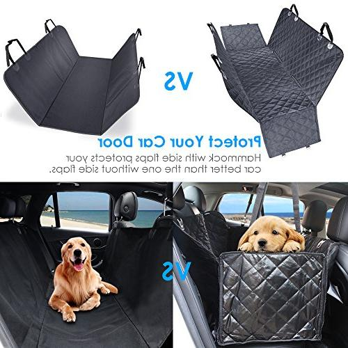 URPOWER Covers, 100% Seat Nonslip Seat Back Seat Washable Dog Seat Seat Flaps Cars Trucks and SUVs