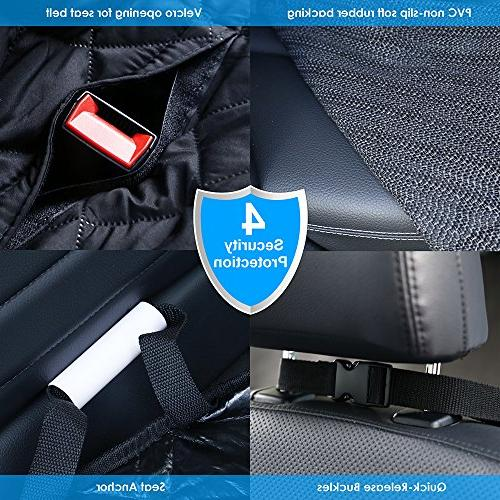 URPOWER Dog Covers, 100% Waterproof Seat Seat Cover Seat Car Seat Seat Flaps Cars and