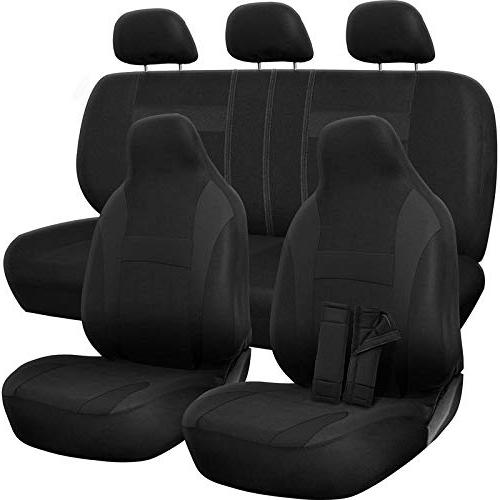 car seat cover poly cloth solid black