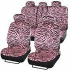 BDK Zebra Auto Seat Cover Set - 12 pieces